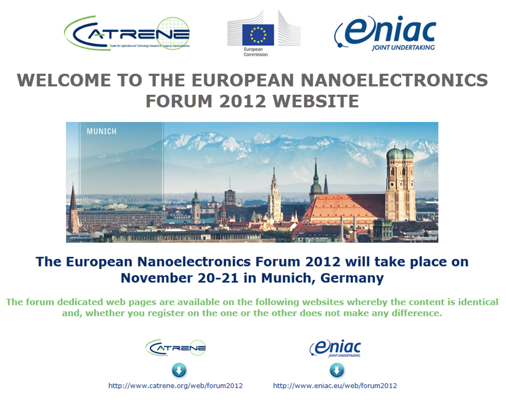 NANOELECTRONICS-forum
